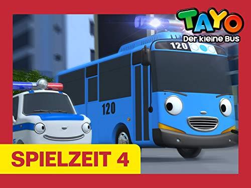 Tayo Spielzeit 4 - Tayo wird Polizeibeamter