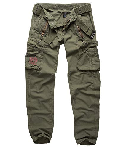 Surplus Royal Traveler Slimmy Trousers, royalgreen, M