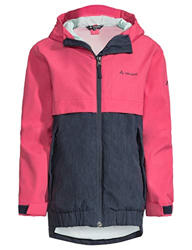 VAUDE Kinder Jacke Hylax 2L, Regene, bright pink, 122/128, 413899571280