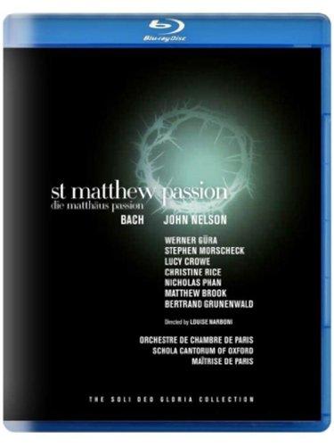 BACH: Die Matthäus-Passion (Orchestre de Chambre de Paris, John Nelson) (Saint-Denis-Festival, 2011) [Blu-ray]