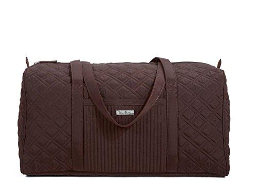 Vera Bradley Luggage Womens Large Duffel Espresso Duffel Bag