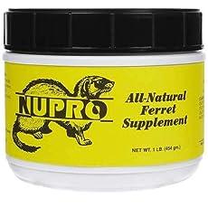 Image of Nupro All Natural Ferret. Brand catalog list of Nupro.