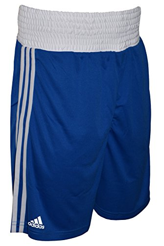 adidas Base Punch Men's Boxing Shorts, Blue, L