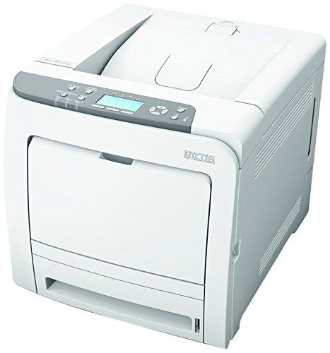 Ricoh Aficio SP C320DN schwarz/weiß Laserdrucker (1200x1200 dpi, 10 Base-T/100 Base-T Ethernet, USB 2.0) grau