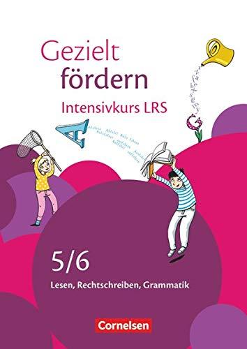 Gezielt fördern - Lern- und Übungshefte Deutsch - 5./6. Schuljahr: Intensivkurs LRS - Lesen, Rechtschreiben, Grammatik - Arbeitsheft