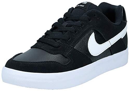 Nike SB Delta Force Vulc, Scarpe da Skateboard Unisex-Adulto, Nero (Black/White/Anthracite/White 010), 45 EU