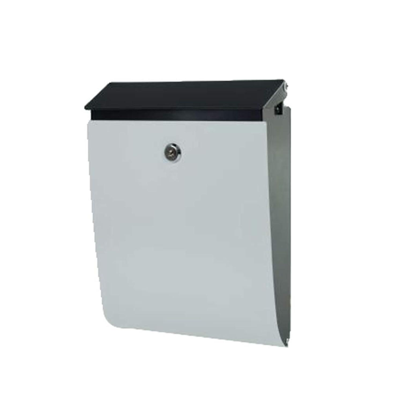 メールボックス、壁掛け型ヴィラデコレーションレターボックスメールボックスマガジンレターボックスボックスクリエイティブデザイン(カラー:D)