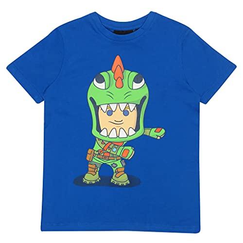 Fortnite Flossing Rex Jungen-T-Shirt Königsblau 164