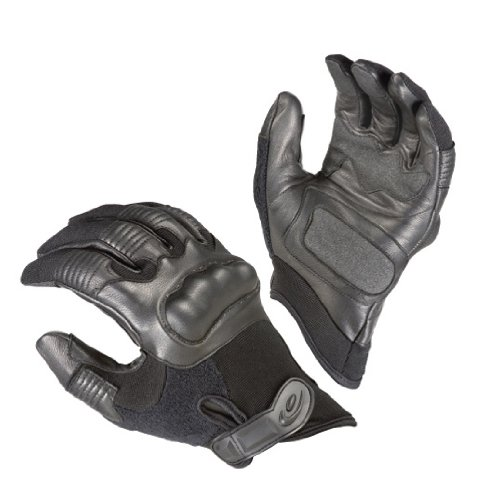 Hatch Gloves Reactor Hard Knuckle Handschuh, Schwarz, XL