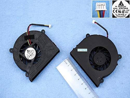 Kompatibel für ASUS G73, G73J, G73JH, G73JW, G73S G73SW Lüfter Kühler Fan Cooler
