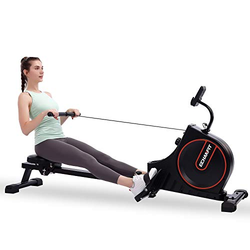 ECHANFIT Rowing Machine Magnetic Rower for Home Use Foldable