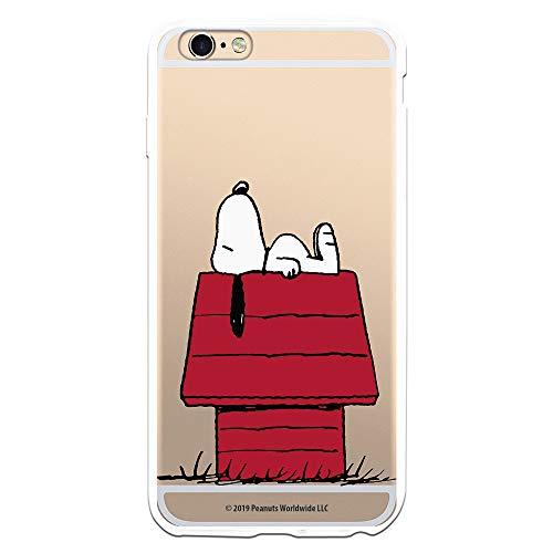 Funda para iPhone 6 Plus - 6S Plus Oficial de Snoopy Snoopy casa para Proteger tu móvil. Carcasa para Apple de Silicona Flexible con Licencia Oficial de Peanuts.