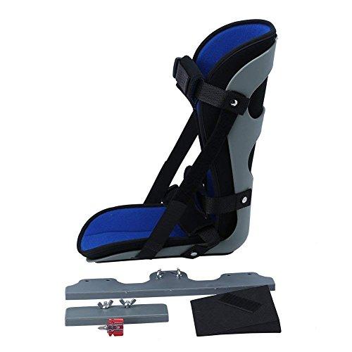 Knöchel Fuß Orthese, Fuß Drop Schiene Knöchelstütze für Plantar Fasciitis Fersenschmerzen, Airbag Achillessehne nach Operation Knöchel Fraktur Behandlung Fix Support Tool (S/M/L)(S)
