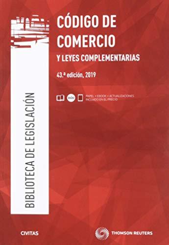 Código de Comercio y leyes complementarias (Papel + e-book): 6 (Biblioteca de Legislación)