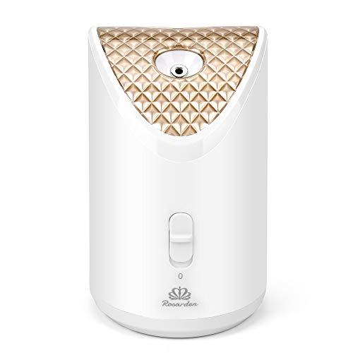 Rosarden vaporizador facial nano iónico profesional con vapor caliente y humidificador para la cara, sistema de hidratación para sauna y spa