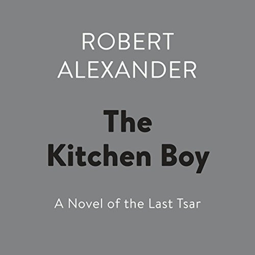 The Kitchen Boy audiobook cover art
