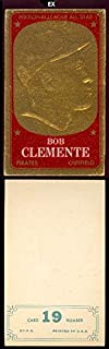 1965 Topps Embossed (Baseball) Card# 19 Roberto Clemente of the Pittsburgh Pirates VGX Condition