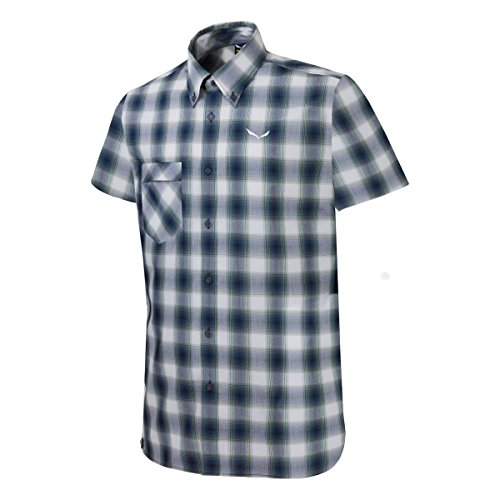 Salewa Fanes Chemise Manches Courtes Homme, Blanc, FR (Taille Fabricant : 48/M)