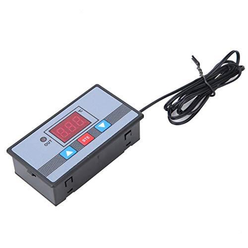 Controlador de temperatura Interruptor de termostato digital Pantalla digital de rendimiento estable de alta precisión con protección de conexión inversa para(AC110~220V)