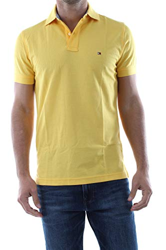 Tommy Hilfiger Herren Poloshirt Regular Fit gelb (31) XL