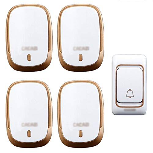 GOAIJFEN telefoonknop voor senioren, Smart-Caregive Personal Pager System Emergency Care alarm hoofdbeveiliging noodoproepknop