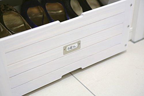 GKS-520W オスマック 下駄箱下収納ボックス 52cm幅 ホワイト [GKS520W]