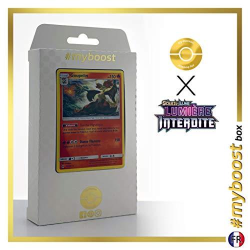 Goupelin 17/131 Holo - #myboost X Soleil & Lune 6 Lumière Interdite - Coffret de 10 Cartes Pokémon Françaises