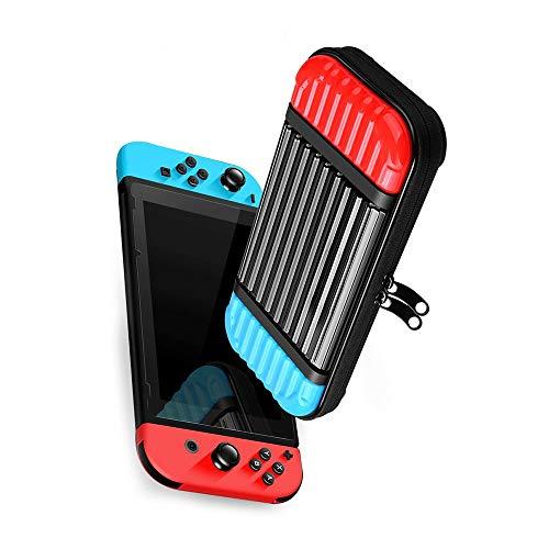 FKYNB PC Shell Dur for Nintendo Interrupteur de Protection Sac de Rangement Housse de Transport Portable étanche for Nintendo Console Switch NS