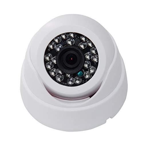 Inicio cámara de vigilancia WQ-7004 cámara 24 LED Enciende la Concha (Blanco) (Color : White)