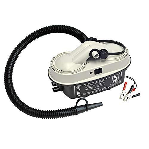 BTK Inflador eléctrico Bravo 12 de camping para barco e inflador colchoneta...