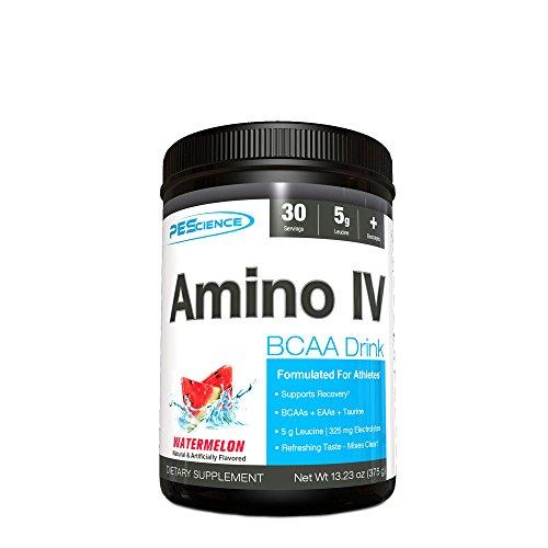 PES Amino IV Pre-Workout Protein Mix, 375 g, Watermelon