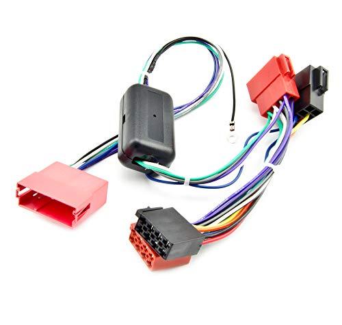 Watermark WM-0021 Adapter Aktivsystem geeignet passend für Audi A2 A3 A4 A6 VW Passat B5 Golf 4 Bose Radio Sound-System Mini ISO