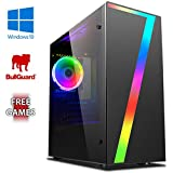 AX-11 Gaming PC Computer with 2 Free Games, Windows 10 OS, WiFi