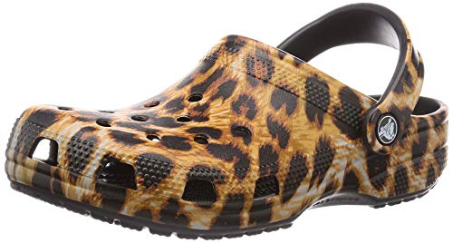 Crocs Unisex Classic Animal Print Clog | Zebra and Leopard Shoes, 8 US Women