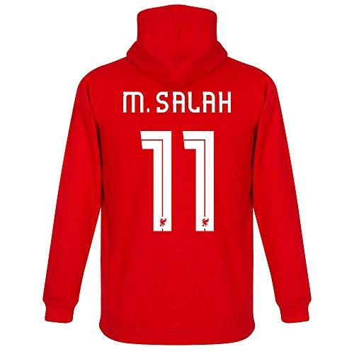 Liverpool M. Salah 11 Team Kids Hoodie - Red - 8 Years