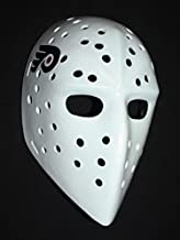1:1 Custom Vintage Fiberglass Roller Ice Hockey Goalie Mask Bernie Parent HO103