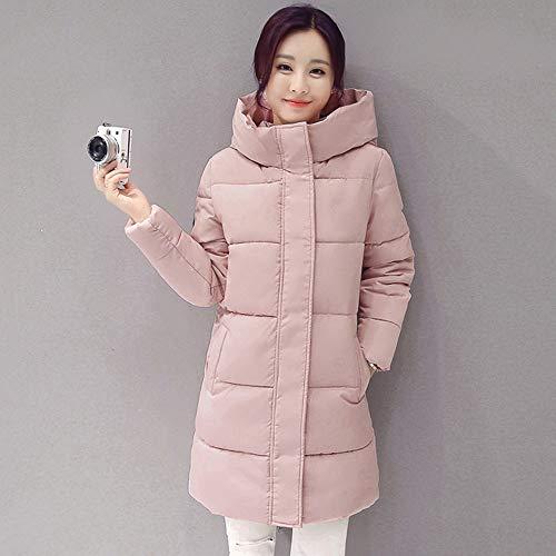 YHXMG damesjack vrouwen winter met capuchon jas vrouwelijk outwear katoen plus maat warme mantel verdikte dames