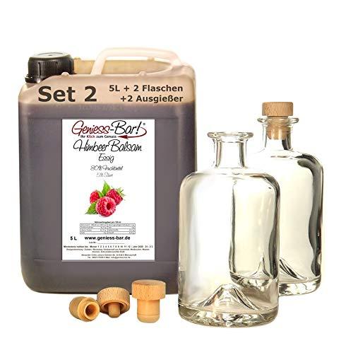 Himbeer Balsam Essig 5L inkl. 2 Flaschen u. 2 Ausgießer gratis!