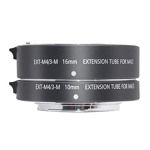 Mcoplus EXT-M4/3-M 10mm 16mm Automatic Extension Tube for Olympus Panasonic Micro 4/3 System Camera