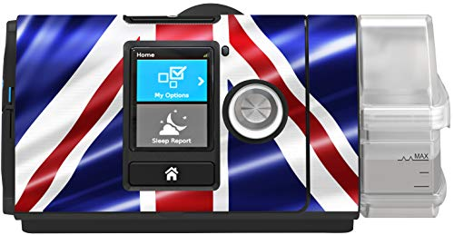 RespLabs CPAPwraps Compatible with ResMed AirSense 10 CPAP Machine - UK Flag Skin