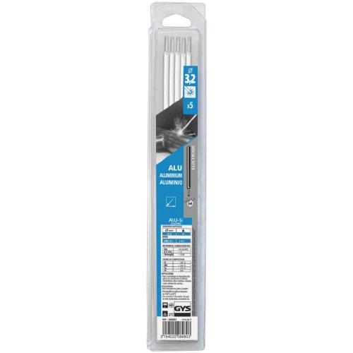 GYS - ELECTRODES Aluminium Ø3.2 4043 - Etui de 5 - Consommable soudure/MMA - Toutes positions