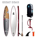 Boardworks SHUBU Great Bear | Touring All Water Inflatable Stand Up Paddleboard...