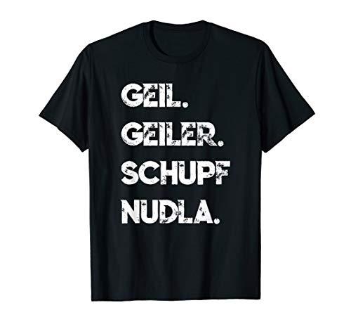 Schwaben Schupfnudeln Schwäbisch Spruch Lustig T-Shirt T-Shirt