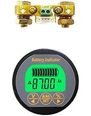 AiLi Batterij Monitor Spanning Tester Voltmeter Ampèremeter Spanning Huidige Meter 80V 100A Caravan RV Camper UPS Lithium Iron Lood-zuur 999 AH