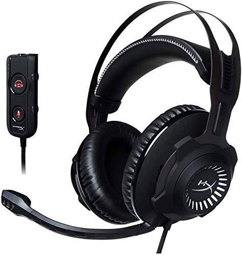 HyperX Cloud Revolver S ゲーミングヘッドセット 7.1ch Dolby USBオーディオコントロールボックス付属PS4/PC/Xbox/Switch/スマホ HX-HSCRS-GM/AS