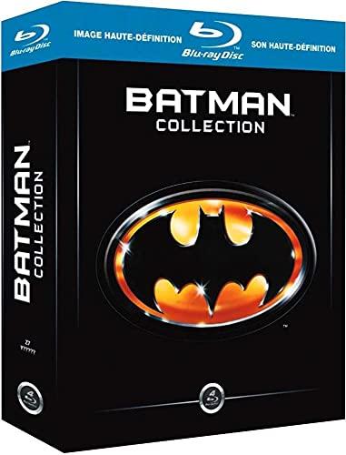 Batman : L'anthologie des Films 1989-1997 - Coffret Blu-Ray