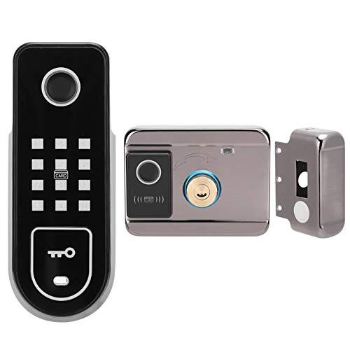 Bloqueo fácil de desbloquear Bloqueo de contraseña Desbloqueo de contraseña de toque completo Bloqueo de huellas dactilares Cerradura inteligente antirrobo para el hogar para la puerta del