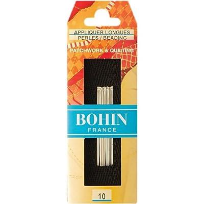 Bohin Bead/Applique Needles, Size 10, 15 Per Package