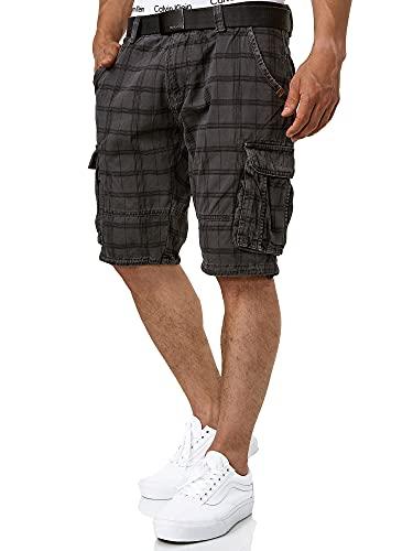 Indicode Herren Monroe Cargo ZA Shorts...