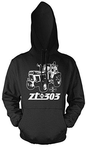 Uglyshirt87 Tractor ZT mannen en heren trui met capuchon | 303 oldtimer DDR boer | M2